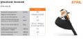 Aspiratore a Batteria Stihl SHA 56 soffiatore e trituratore
