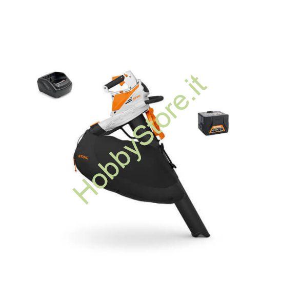Aspiratore a Batteria Stihl SHA 56 Kit con 1 batteria e caricabatterie