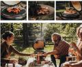 Barbecue Monolith Icon Nero con Sostegno